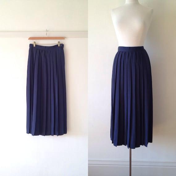 jupe bleu marine bleu marine bleu jupe midi longue jupe. Black Bedroom Furniture Sets. Home Design Ideas