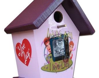 I Love Lucy  Birdhouse