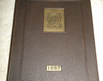 NYC Barnard School For Boys Yearbook 1927 Bric