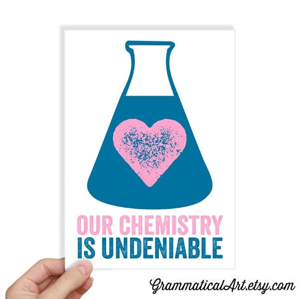 Chemistry Valentine Science Valentines Day Cards Geekery – Chemistry Valentines Day Card