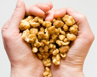 Salted Caramel Corn with nuts - 1lb