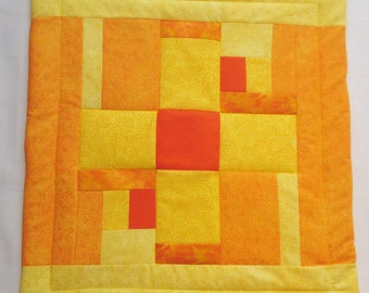 Lil' Ray of Sunshine series mini quilt 4