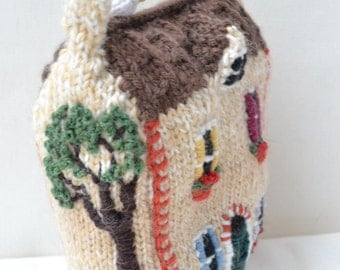 Little Woollie House Knitting Pattern
