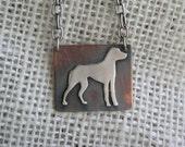 People's best friend pendant