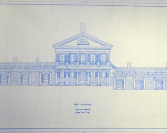 University of Virginia Pavilion VI Blueprint