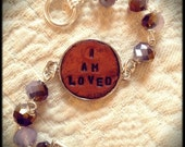 I Am Loved beaded bracelet