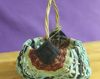 Handwoven Basket #4