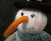 Fishing Snowman