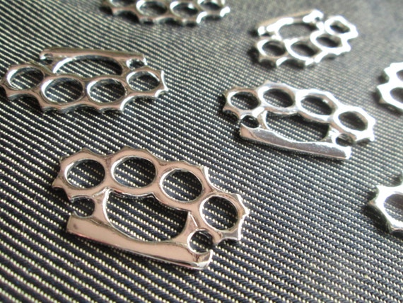 Basket Weaving Supplies Connecticut : Charms knuckle duster silver fight pendant supplies ct