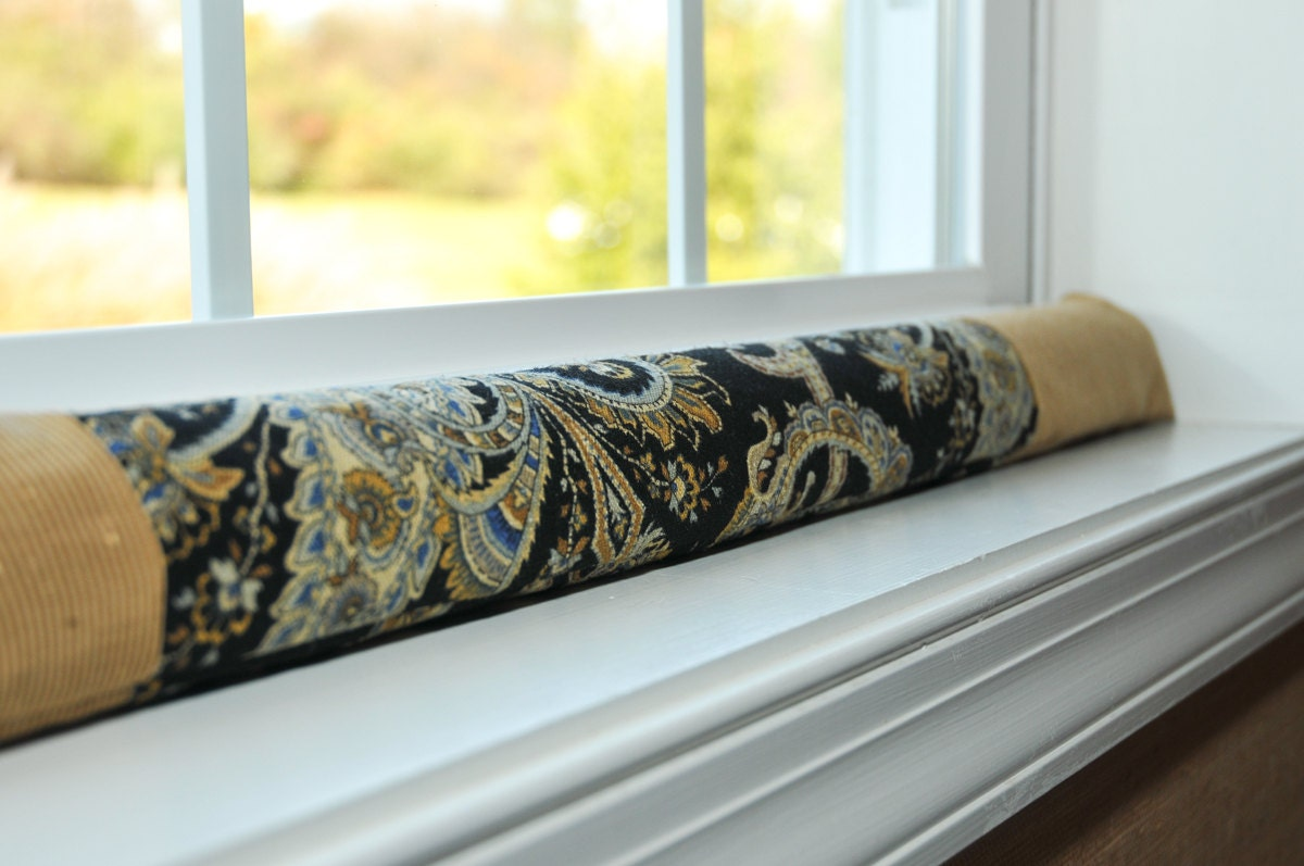 Window Draft Stopper Paisley Home Decor 30 Guard