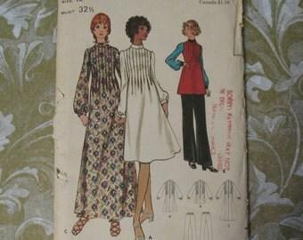 Vintage 70s Butterick Pattern 6336 Dress Pants 10