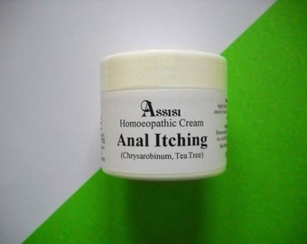 HOMEOPATHY Dog Anal Gland Cream, 50g, made by Assisi, Itch Free, Soothing and Healing, For Dogs and Puppies, Cats and Kittens