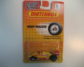 Matchbox Indy Car  2 Color Variation Set  1992/1993 Releases