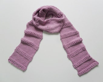 Knit / Little Window Scarf