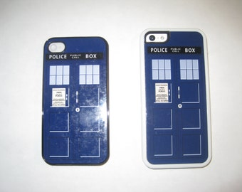 Tardis Doctor who iPhone cover