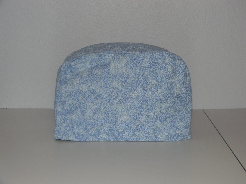 two slice toaster cover light blue print. Black Bedroom Furniture Sets. Home Design Ideas