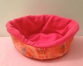 Cozy Cuddler ~ small animal pet bed