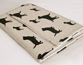 All in One Diaper Clutch with Changing Pad - Waterproof - Premier Prints Best Friends/Dogs