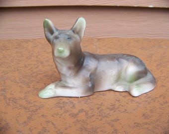 1930's german shepard figurine