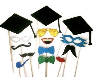 Graduation Photo Booth/ Photo Booth/ Class of 2014 /Photobooth props/ Photobooth/ Graduation/ Props