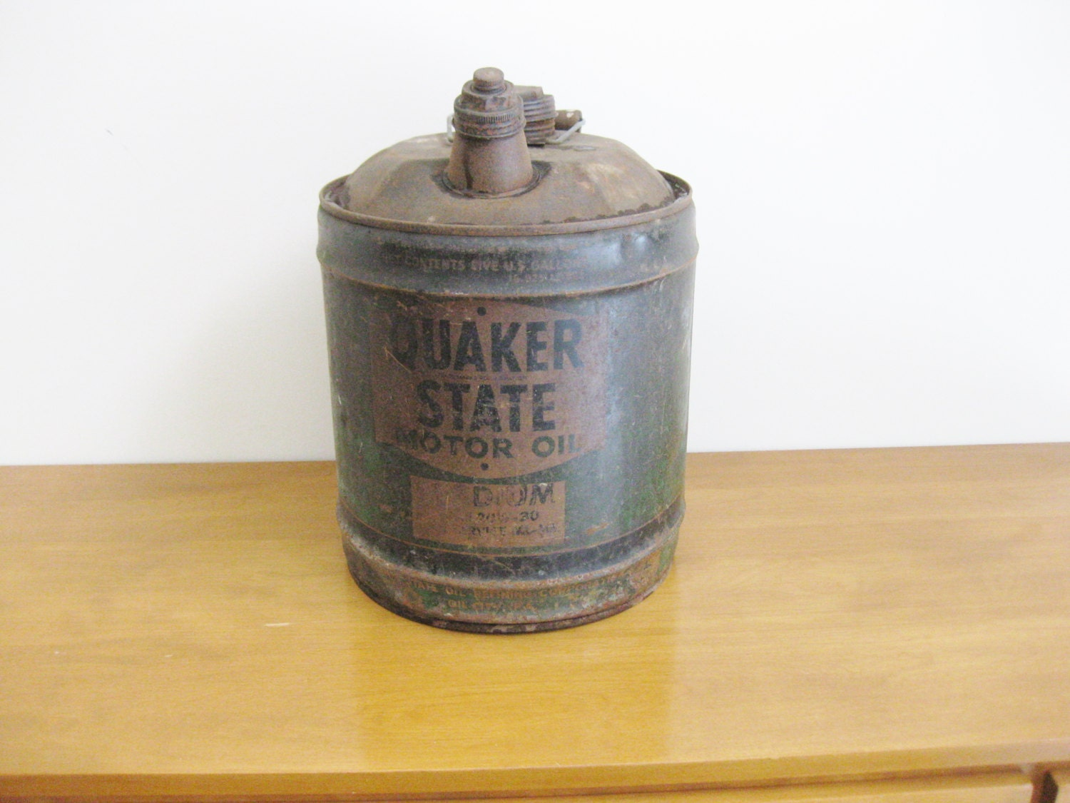 Oil Cans Quaker State ...
