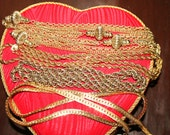 Vintage Goldtone Necklaces Lot ( Saks Fifth Avenue)