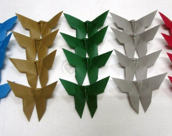 200 Paper Origami Butterflies 4 x 4 inches (10 x 10 cm) only for 20.00 USD