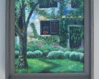 Old House. Oil Painting on Canvas 16''x 20''