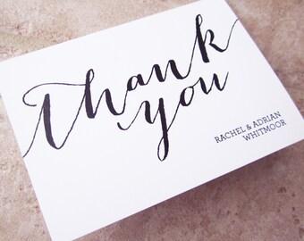 40 Handwriting Wedding Script Thank You Personalized Stationery