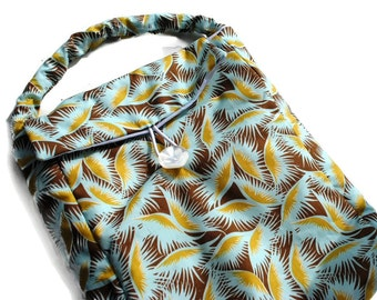 Handmade Reusable Lunch Bag Amy Butler Insulated Picnic Sack Pouch