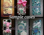 Custom Phone case made to order! Iphone 4/4S/5/5S/5C, Samsung Galaxy S3/S4/Mini, Blackberry & Any other phone make and model