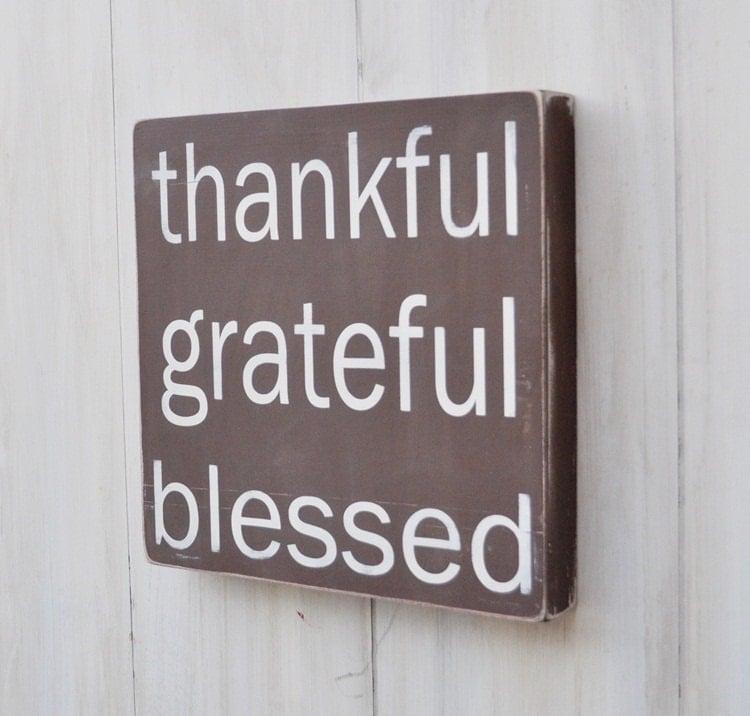 Thanksgiving Decor Fall Sign Custom Wood Sign Home Decor