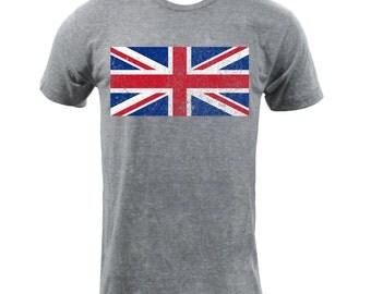 Flag of the United Kingdom - Athletic Grey