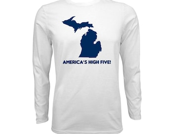 UGP - Americas High Five Long Sleeve - White