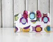Sale: Owl Women's Wallet // Handmade Clutch Wallet