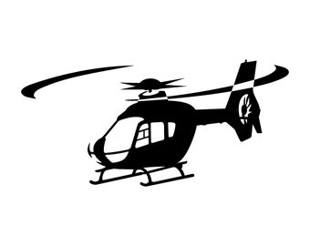 Eurocopter EC-135 Helicopter Decal
