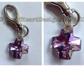 Swarovski Crystal Charm - handbag/keychain