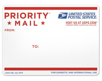 Priority/rush processing mail upgrade