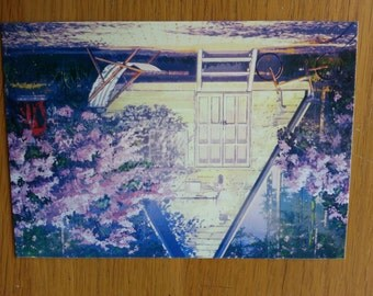 Girl  Postcards Set - 2Cards