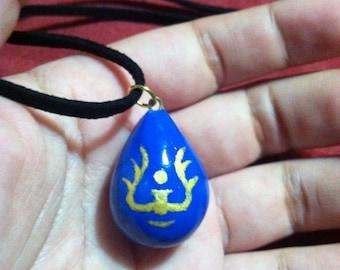 Glow in the Dark Laputa Castle in the Sky Sheeta's (Luseeta Toel Ul Laputa) Amulet inspired Necklace