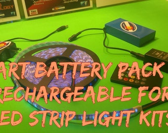 The Smart Battery Pack 1.0 Rechargeable for LED Strip Light Kits
