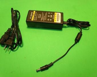 12V 4 Amp 4000ma AC Power Adapter for  LED Strip Light - By Custom LED Kits