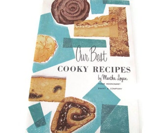 Vintage Christmas, Cookie Recipes, 1950's Our Best Cooky, Cookie Recipes, Mid Century, 1950's Christmas Recipes