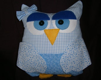 Owl Cushion Remote Control Holder