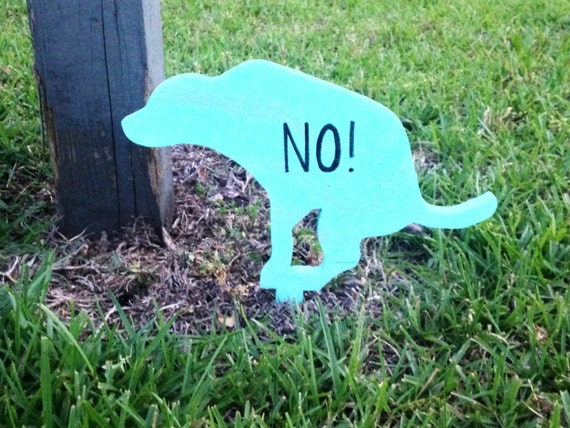 how to keep a dog from pooping in your yard
