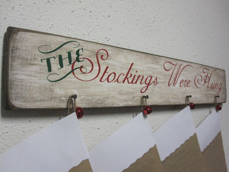 Christmas Stocking Wall Hanger D 233 Cor Stocking By Bornonbonn