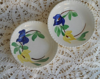 Blue Ridge set of two small dishes 5.5 inches