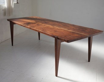 "84"" Oregon Walnut Oslo Dining Table"