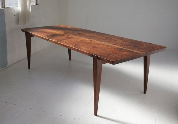 84 oregon walnut oslo dining table for Hades dining table th8