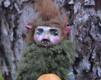 Tott - pixie sculpture/doll